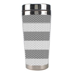 Pattern Half Tone Stainless Steel Travel Tumblers