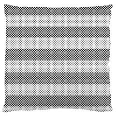 Pattern Half Tone Standard Flano Cushion Case (one Side)