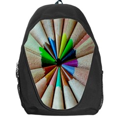 Pen Crayon Color Sharp Red Yellow Backpack Bag