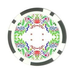 Holiday Festive Background With Space For Writing Poker Chip Card Guard