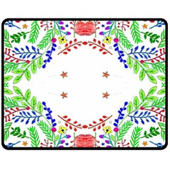 Holiday Festive Background With Space For Writing Fleece Blanket (medium)  by Nexatart