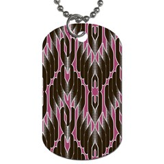 Pearly Pattern Dog Tag (one Side) by Nexatart