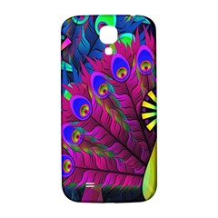 Peacock Abstract Digital Art Samsung Galaxy S4 I9500/i9505  Hardshell Back Case by Nexatart