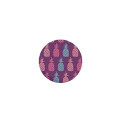 Pineapple Pattern  1  Mini Buttons by Nexatart