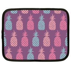 Pineapple Pattern  Netbook Case (large)
