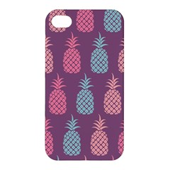 Pineapple Pattern  Apple Iphone 4/4s Hardshell Case by Nexatart
