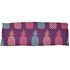 Pineapple Pattern  Body Pillow Case (dakimakura) by Nexatart