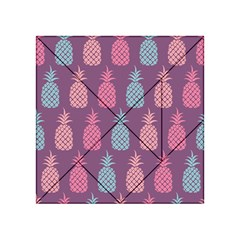 Pineapple Pattern  Acrylic Tangram Puzzle (4  X 4 ) by Nexatart