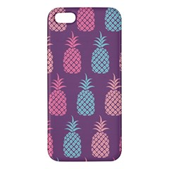 Pineapple Pattern  Apple Iphone 5 Premium Hardshell Case by Nexatart