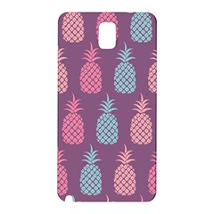 Pineapple Pattern  Samsung Galaxy Note 3 N9005 Hardshell Back Case by Nexatart