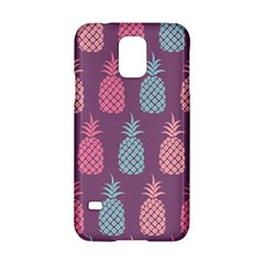 Pineapple Pattern  Samsung Galaxy S5 Hardshell Case  by Nexatart