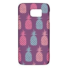 Pineapple Pattern  Galaxy S6 by Nexatart