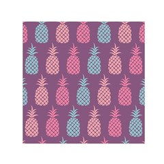 Pineapple Pattern  Small Satin Scarf (square) by Nexatart