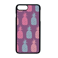 Pineapple Pattern  Apple iPhone 7 Plus Seamless Case (Black) by Nexatart