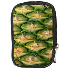Pineapple Pattern Compact Camera Cases by Nexatart
