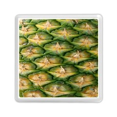 Pineapple Pattern Memory Card Reader (square)  by Nexatart