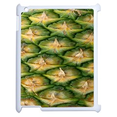 Pineapple Pattern Apple Ipad 2 Case (white) by Nexatart