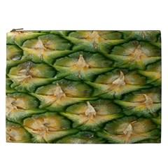 Pineapple Pattern Cosmetic Bag (xxl)  by Nexatart
