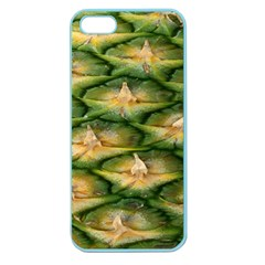 Pineapple Pattern Apple Seamless Iphone 5 Case (color) by Nexatart
