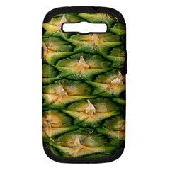Pineapple Pattern Samsung Galaxy S Iii Hardshell Case (pc+silicone) by Nexatart