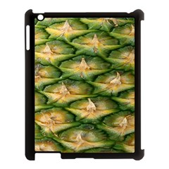 Pineapple Pattern Apple Ipad 3/4 Case (black) by Nexatart