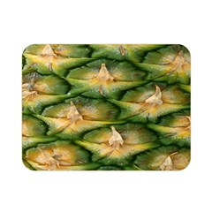 Pineapple Pattern Double Sided Flano Blanket (mini)  by Nexatart