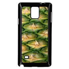 Pineapple Pattern Samsung Galaxy Note 4 Case (black) by Nexatart