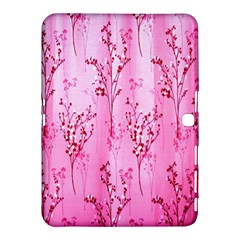 Pink Curtains Background Samsung Galaxy Tab 4 (10 1 ) Hardshell Case  by Nexatart