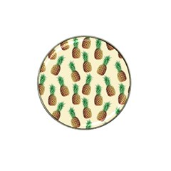 Pineapple Wallpaper Pattern Hat Clip Ball Marker (4 Pack)