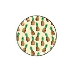 Pineapple Wallpaper Pattern Hat Clip Ball Marker (4 Pack) by Nexatart