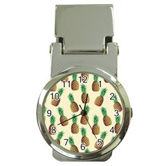 Pineapple Wallpaper Pattern Money Clip Watches