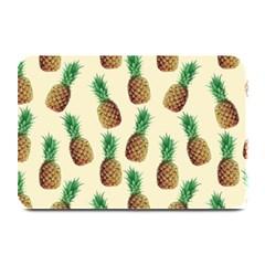 Pineapple Wallpaper Pattern Plate Mats by Nexatart