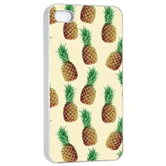 Pineapple Wallpaper Pattern Apple Iphone 4/4s Seamless Case (white)