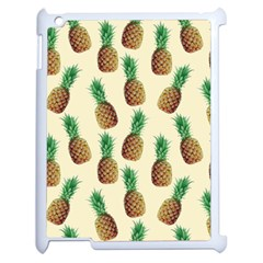 Pineapple Wallpaper Pattern Apple Ipad 2 Case (white)