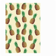 Pineapple Wallpaper Pattern Small Garden Flag (two Sides)