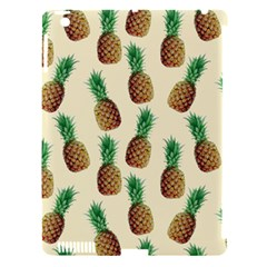 Pineapple Wallpaper Pattern Apple Ipad 3/4 Hardshell Case (compatible With Smart Cover) by Nexatart