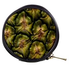 Pineapple Fruit Close Up Macro Mini Makeup Bags by Nexatart