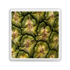 Pineapple Fruit Close Up Macro Memory Card Reader (square)  by Nexatart