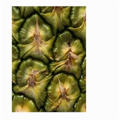 Pineapple Fruit Close Up Macro Large Garden Flag (two Sides) by Nexatart