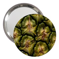 Pineapple Fruit Close Up Macro 3  Handbag Mirrors