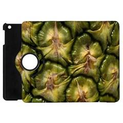 Pineapple Fruit Close Up Macro Apple Ipad Mini Flip 360 Case by Nexatart