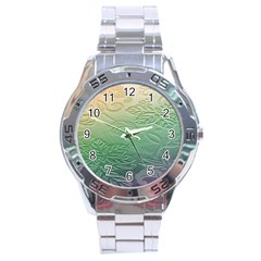 Plants Nature Botanical Botany Stainless Steel Analogue Watch