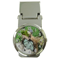 Plant Succulent Plants Flower Wood Money Clip Watches by Nexatart