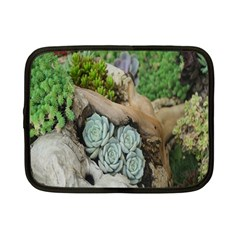 Plant Succulent Plants Flower Wood Netbook Case (small)  by Nexatart