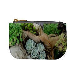 Plant Succulent Plants Flower Wood Mini Coin Purses