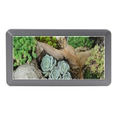 Plant Succulent Plants Flower Wood Memory Card Reader (mini)