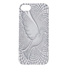 Points Circle Dove Harmony Pattern Apple Iphone 5s/ Se Hardshell Case