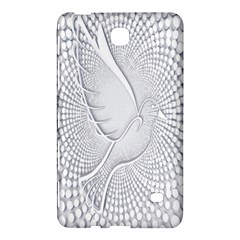 Points Circle Dove Harmony Pattern Samsung Galaxy Tab 4 (8 ) Hardshell Case  by Nexatart