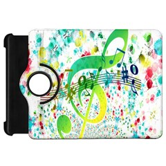 Points Circle Music Pattern Kindle Fire Hd 7