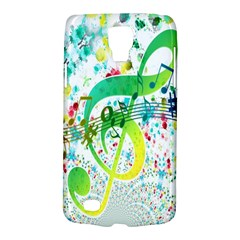 Points Circle Music Pattern Galaxy S4 Active by Nexatart